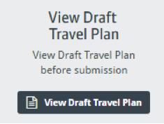 View Draft Travel Plan